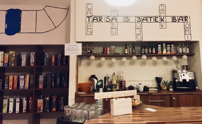 Budapest Winter - Things to do - Board Game Cafe