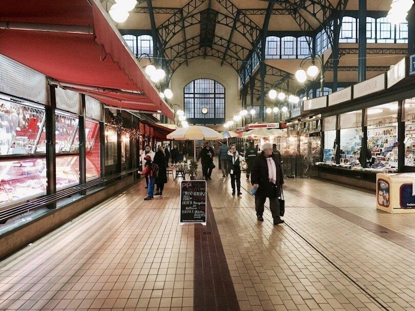 Budapest Markets - Rákóczi Square Market
