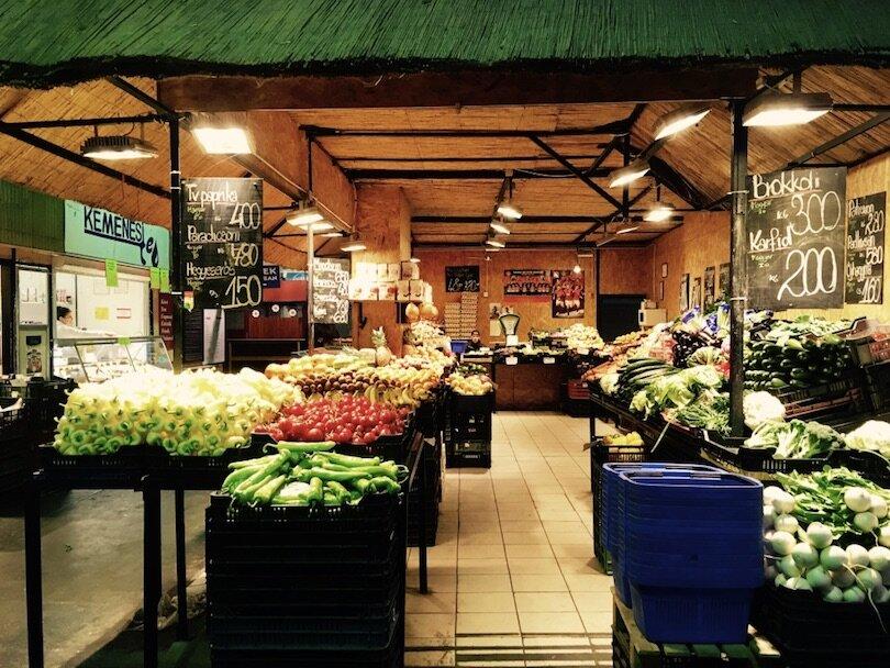 Budapest Markets - Hunyadi Square Market