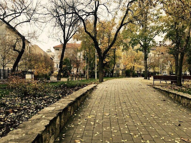 Budapest Markets - Hunyadi Square Market - Park