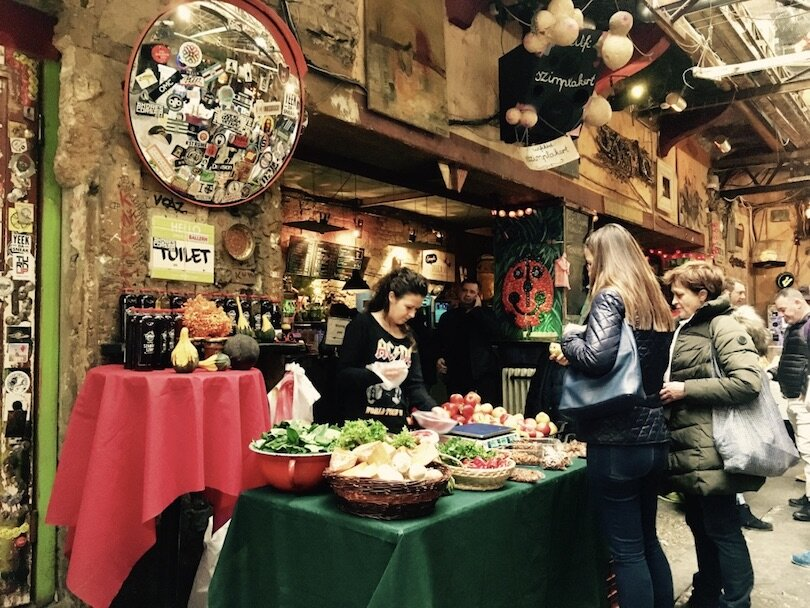 Budapest Markets - Szimpla Farmer's Market
