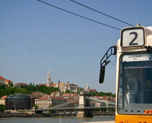 Budapest Tram Line Nr. 2