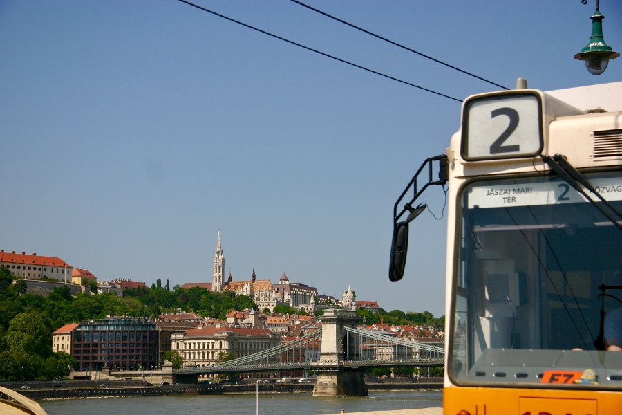 Budapest Tramway Line Nr. 2