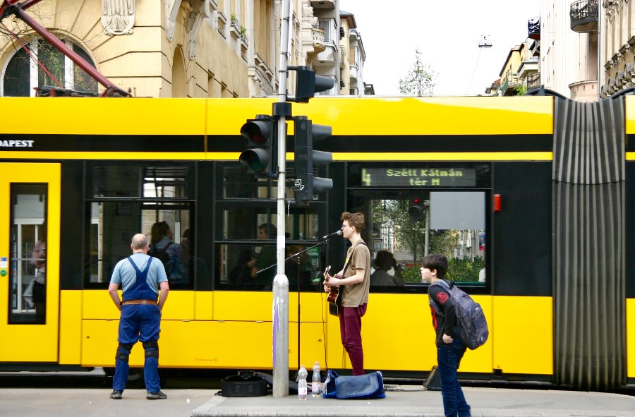 Budapest Tramway Line Nr. 4