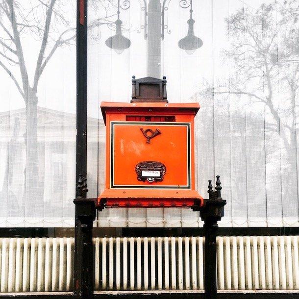 Budapest - mail box