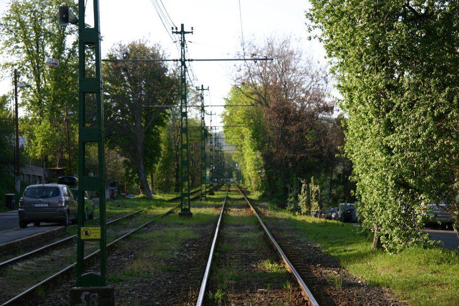 Budapest tram nr. 61
