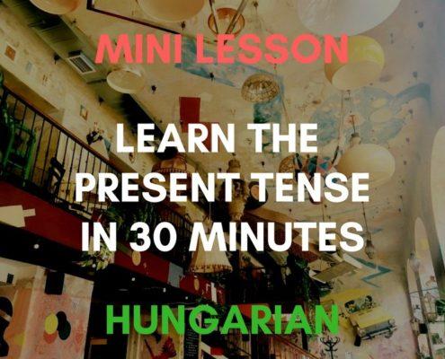 Hungarian Present Tense