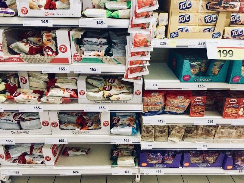 Hungarian Supermarket
