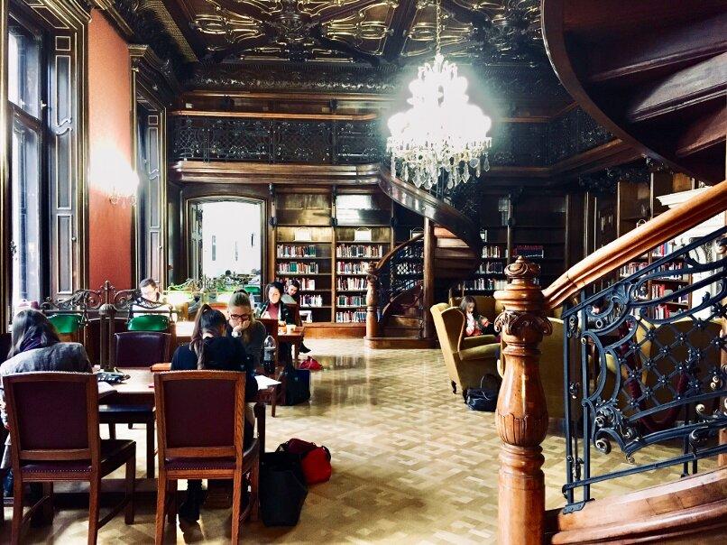 Budapest Szabó Ervin Library
