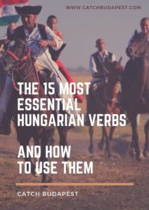 Most Important Hungarian Verbs