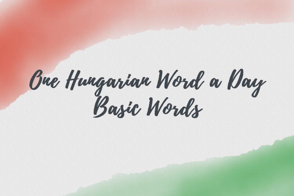 OHWAD-Basic words