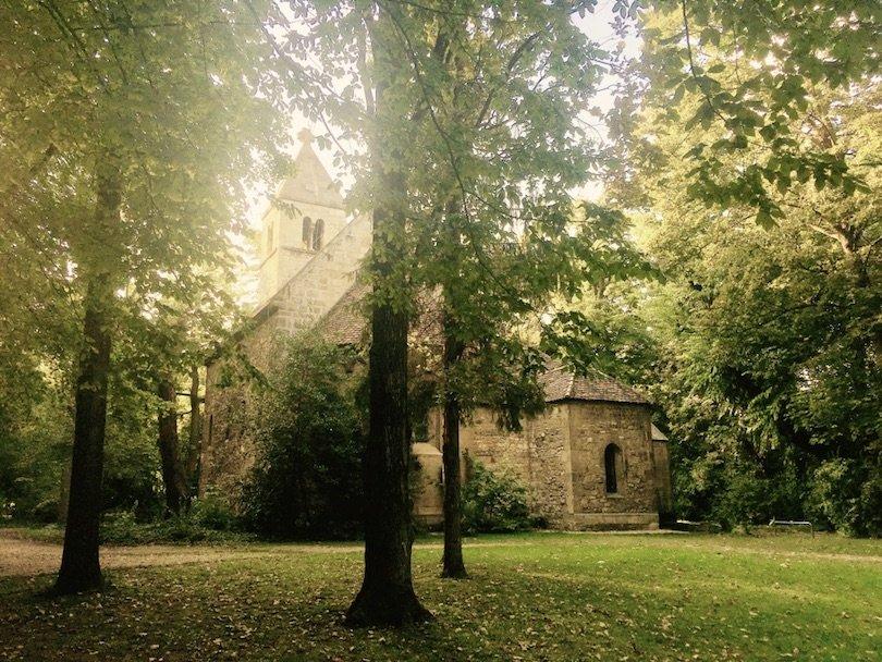 margaret island-budapest-st michael's chapel
