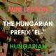 hungarian prefix el